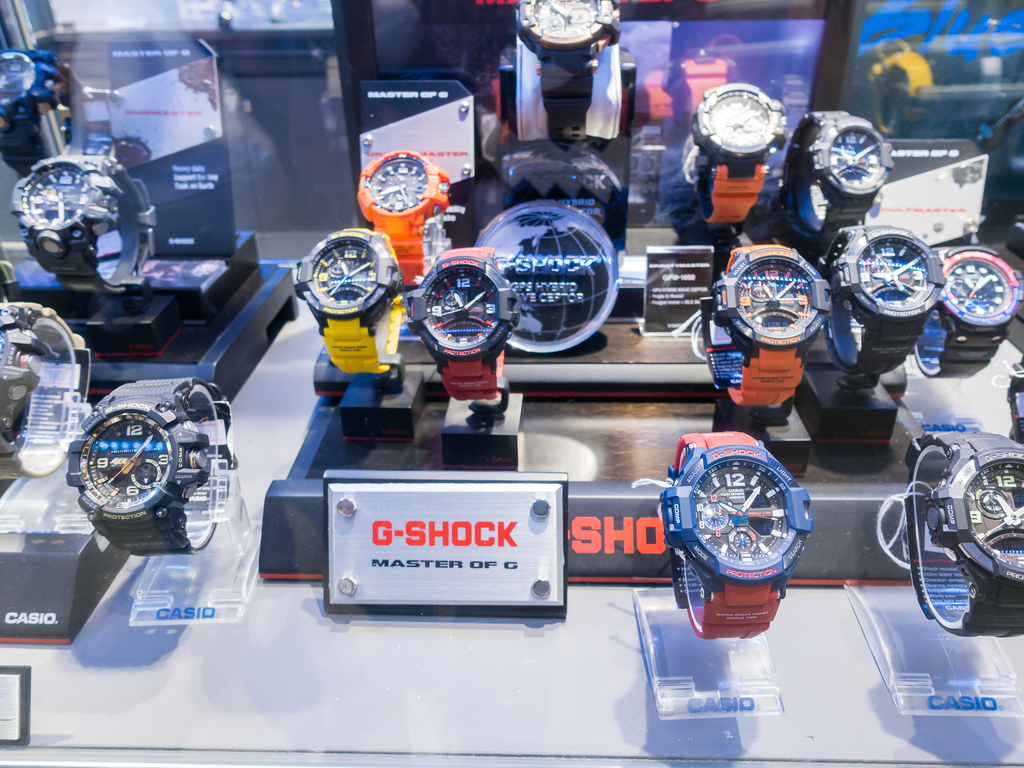 The History of the Casio G-Shock Watch